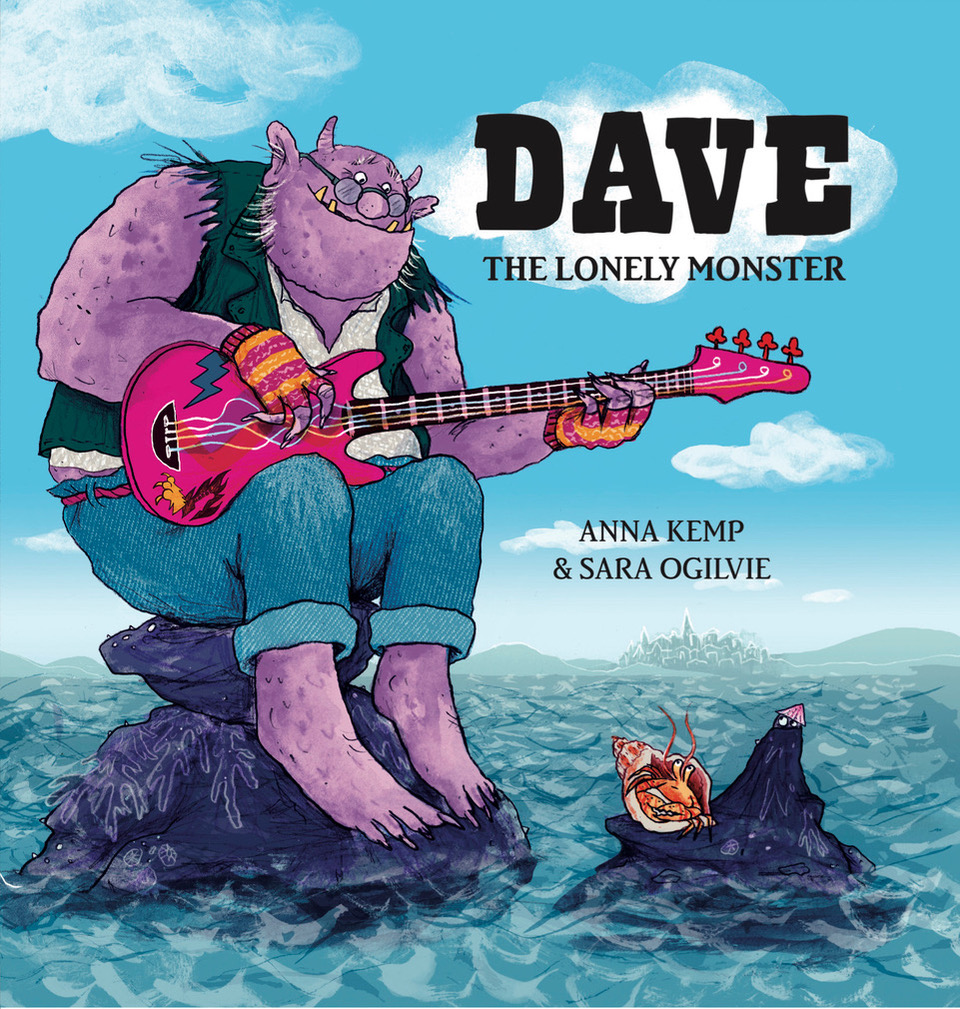 Dave illustrated book cover